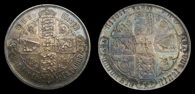 CoinsGB - Error coins- Brockage